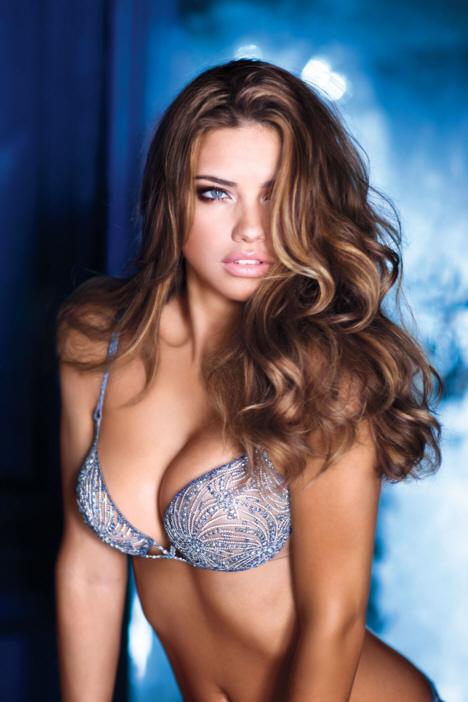 adriana lima fantasy bra. you 2010 Fantasy Bra worn